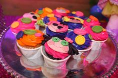 How cute are these Lalaloopsy cupcakes?! See more party ideas and share yours at CatchMyParty.com