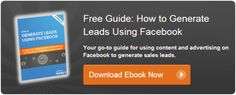 Free guide! How to generate leads with Facebook   #socialmedia #marketing