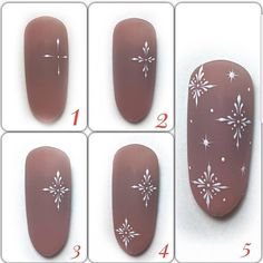 mentions J'aime, 15 commentaires - МАСТЕР КЛАССЫ (video/phot. - mentions J'aime, 15 commentaires - МАСТЕР КЛАССЫ (video/phot. Christmas Manicure, Xmas Nails, Winter Nail Art, Christmas Nail Art, Holiday Nails, Winter Nails, Manicure Nail Designs, Nail Manicure, Diy Nails