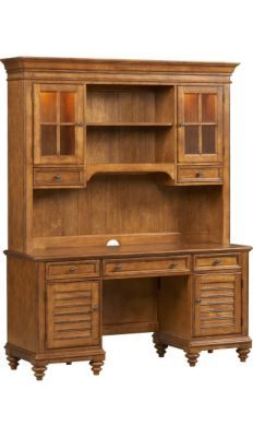 Home Offices, Southport Credenza/Hutch   Pine, Home Offices | Havertys  Furniture