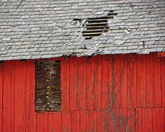 My Old Red Barn with Slate Roof photo print is now avialable on my Etsy shop at www.etsy.com/shop/AnneFreemanImages  I ship worldwide.  ~ Anne Freeman Images ~ Prints to Make you Smile ~  Red Barn Art  Barn Wall Decor  Slate Roof  by AnneFreemanImages