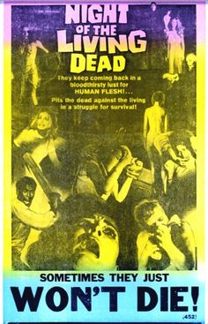 Night of the Living Dead Movie Poster @ niftywarehouse.com