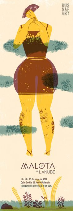 Illustration by Spanish illustrator Mar Hernández (Malota) - www.malota.es