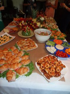 We should totally do cute finger food! Great bridal shower food :)