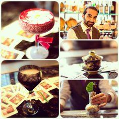 #LucaCinalli from @barnightjar concocting fabulously creative cocktails especially for @islandshangrila !  #cocktails