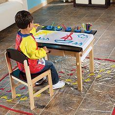 Kids Art Table Chair By Guidecraft Desk