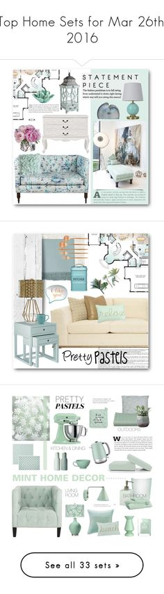 """""""Top Home Sets for Mar 26th, 2016"""" by polyvore ❤ liked on Polyvore featuring interior, interiors, interior design, home, home decor, interior decorating, Pier 1 Imports, Pillowfort, HomArt and Diane James"""