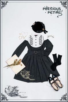 Precious Petal -Mass- Embroidery Lolita OP Dress