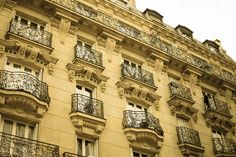Paris apartments  by thetravelingpear, via Flickr