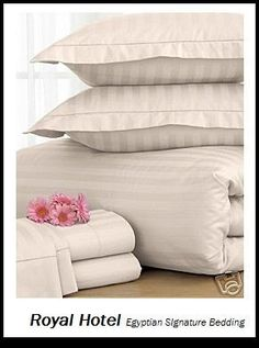 Royal Hotel S  Thread Count Cotton King Bed Sheet Set