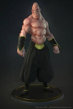 Buu dragon ball Z - 3D - by Danilo Athayde