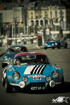 Alpine Renault A110, another car I would like in my garage since I saw the first one as a kid, when I was seven.
