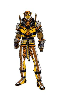 Bronze Tiger 2.0 by olivernome on deviantART