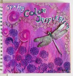 Marja's Creativity (paintings, art journals etc) Journal52 - week 9