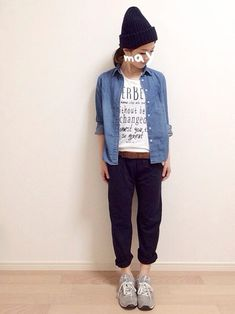 mAy☆uMe│UNIQLOのシャツ・ブラウスコーディネート-WEAR