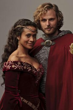 This reminds me of the head-cannon that eventually Gwen and Leon got together after Arthur's death and so on. I kinda almost ship them in a way. I probably ship them more than Arwen though.