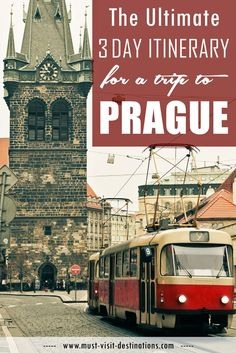 Don't fret, there's more history in Prague than you can handle in a trip. Here's the ultimate itinerary for a trip to Prague. European Vacation, European Travel, Places To Travel, Places To Visit, Prague Travel, Prague Czech Republic, Voyage Europe, Backpacking Europe, Future Travel