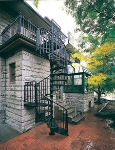 Victorian Spiral Staircase Photo Gallery | The Iron Shop Spiral Stairs