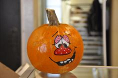 The French Market's Boo Carre Harvest Festival in New Orleans. Happy pumpkins!