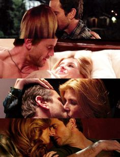 Deacon and Rayna. Love these scenes. Love when they kiss.