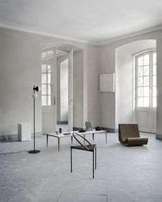 Danish Architect Per Holland Bastrup's Triangulo Chair, Now in Black Steel (A Merry Mishap) Minimalist Home Interior, Piece A Vivre, Finding A House, Scandinavian Interior, Interior Inspiration, Daily Inspiration, Decoration, Interior Architecture, Furniture Design