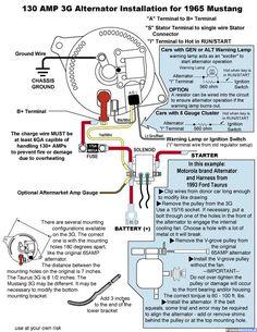 alternator diagram for hyster forklift 3 wire alternator wiring rh pinterest com Old Hyster Forklift Wiring Diagrams Hyster Forklift S50XM Wiring-Diagram