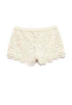 Crochet Lace Shorts (Kids) | FOREVER21 #F21Girls #SummerForever