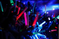 LED Foam Light Sticks for the Glow Party or Lighted Event! - https://glowproducts.com/us/led-foam-light-sticks-multi-color