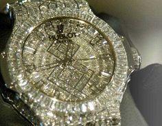 The world's most expensive diamond studded Hublot watch
