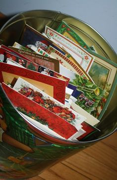 Recycling Christmas Cards: Fun projects that give your cards a new life!
