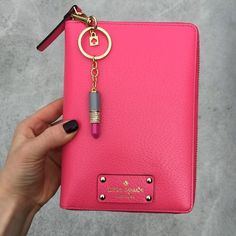 Kate Spade Wellesley Planner Brand new 2016 Cabernet Pink Wellesley planner! I bought this a few days ago and am not as in love as I thought I would be. No trades. Thanks! kate spade Accessories