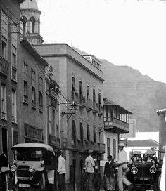 Calle Doctor Comenge, 1916. Santa Cruz de Tenerife