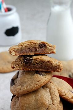 "HIMYM ""Sumbitch' Cookies (Peanut Butter, Chocolate, and Caramel Cookies)"