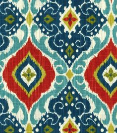 Home Decor Print Fabric- Richloom Studio Jabari Multi at Joann.com- Curtains