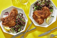 Need a golden brown chicken schnitzel that's crispy without being greasy? — The Washington Post Sesame Chicken, Crispy Chicken, Chicken Seasoning, Chicken Recipes, Turkey Recipes, Schnitzel Recipes, Chicken Schnitzel, Chicken Cutlets