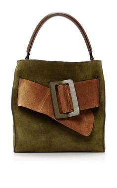 Colorblock Suede Devon Bag by BOYY Now Available on Moda Operandi