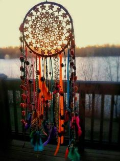 Dream catchers are so easy, I really should make them for people. ***I especially love this one!