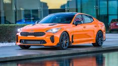 This is the new kia stinger and this car is going to change the way you think about the Korean brand forever because in the past it was seen as a maker of Ford Gt, Ford Mustang, West Coast Customs, Charger Srt, Kia Stinger, Bmw 6 Series, Kia Motors, Camaro Zl1, American Sports