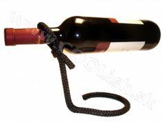Originálny darček Laso držiak na víno čierny PD