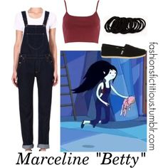 """Marceline in """"Betty"""" by winterlake25 on Polyvore featuring moda, River Island, Lee, TOMS and Forever 21"""