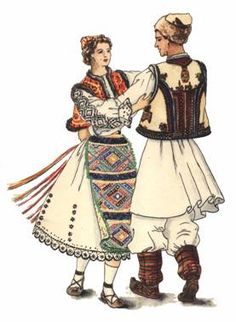 Romanian folk dance Young Frankenstein, 19th Century Fashion, Folk Dance, Point Lace, Folk Costume, Historical Costume, Traditional Outfits, Cosplay, 1 Decembrie