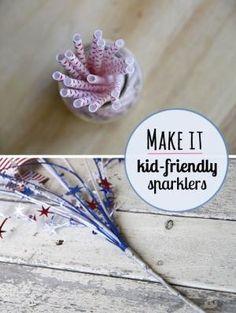 Bambin bricolage cierges amicales - parfait pour obtenir les plus petits dans les festivités.  par Gabrielle