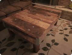 Knock Off Decor - DIY industrial table