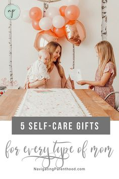 All moms need self-care but not all mamas are alike — this post shares a variety of self-care Mother's Day gifts perfect for the mamas in your life (and a giveaway). Breastfeeding Classes, Birthing Classes, Creative Gifts, Cool Gifts, Philosophy Skin Care, Instagram Giveaway, Organized Mom, Baby Massage, Cute Cards