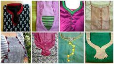 How to make different types of kurthi neck patterns Salwar Neck Patterns, Churidar Neck Designs, Kurta Neck Design, Dress Patterns, Dress Neck Designs, Blouse Designs, Neckline Designs, Clothing Tags, Clothing Patterns