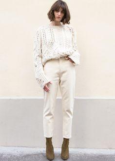 "Classic Denim Pants w/2 Front & 2 Back Pockets 100% Cotton 25"" Inseam Length, S/26"" Waist, M/28"" Waist, 11"" Rise Machine Wash Imported"