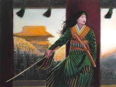 """""""Mirumoto Hikaru,"""" by Drew Baker"""
