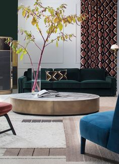 Hector sofa and Belt table by ANDREA PARISIO for Meridiani