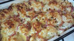 Karfiol sonkás tejfölben sütve, jól variálható káprázatos étel! Macaroni And Cheese, Vaj, Minden, Ethnic Recipes, Food, Mac And Cheese, Essen, Meals, Yemek