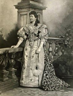Duchess of Devonshire's Jubilee Costume Ball 1897 -  HRH the Duchess of Connaught as Anne of Austria, mother of Louis XIV